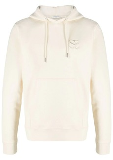 Sandro embroidered-logo organic cotton hoodie