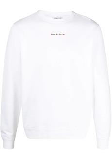 Sandro embroidered logo sweatshirt