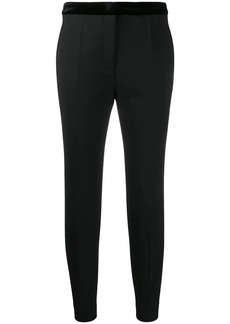 Sandro fitted cropped trousers
