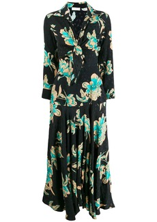 Sandro floral print dress