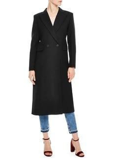 Sandro H18 Wool-Blend Coat