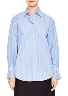 Sandro H18Sociologie Pinstripe Shirt