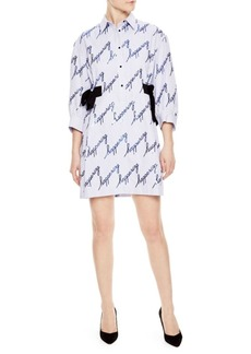 Sandro Happening Shirt Dress