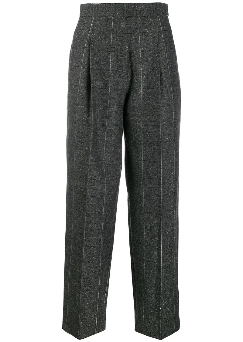 Sandro high-waist tailored trousers
