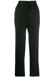 Sandro high-waisted pleated trousers