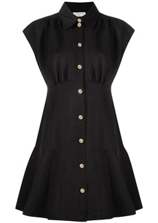 Sandro Josephine empire line mini dress