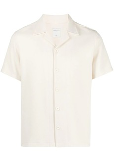 Sandro Knit bowling shirt