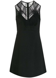 Sandro lace panel short dress