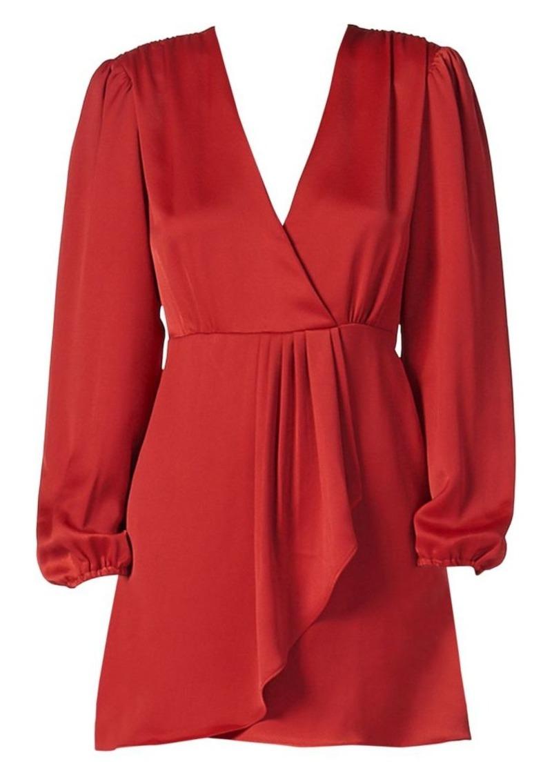 Sandro Leana Wrap Dress