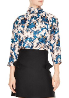 Sandro Liliane Silk Blouse