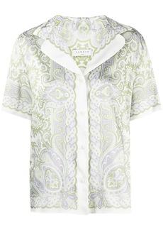 Sandro Liviana paisley print shirt