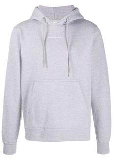 Sandro logo-embroidered hoodie