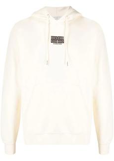 Sandro logo print cotton hoodie