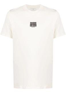 Sandro flocked logo T-shirt