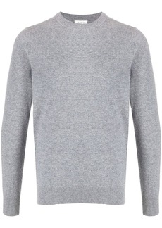 Sandro long-sleeve fitted jumper