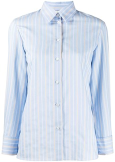 Sandro long sleeve striped shirt