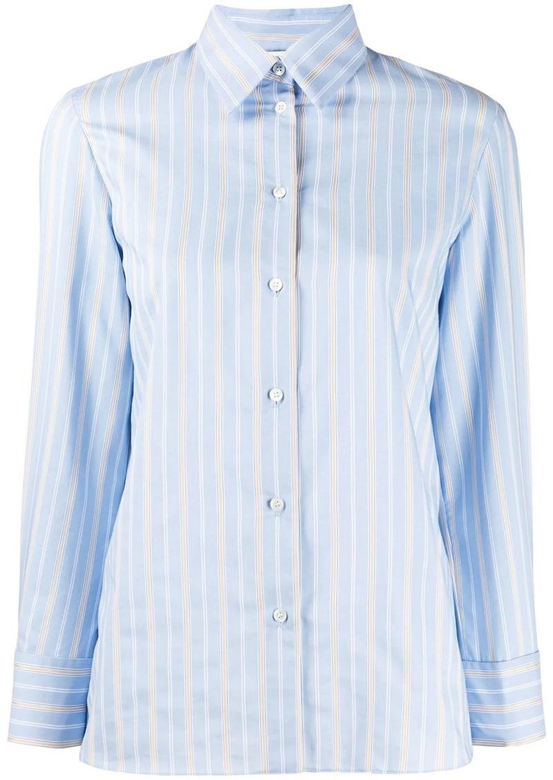 Sandro long sleeve striped shirt