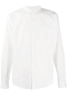 Sandro Mandarin collar cotton shirt