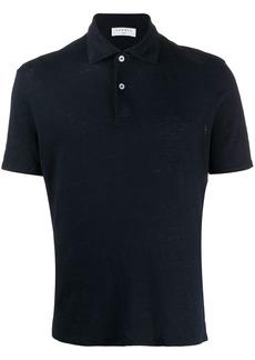 Sandro natural flax polo shirt