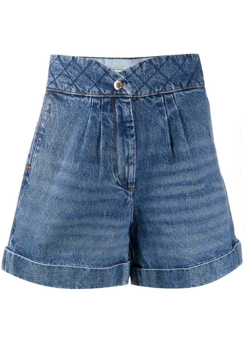 Sandro Ness denim shorts