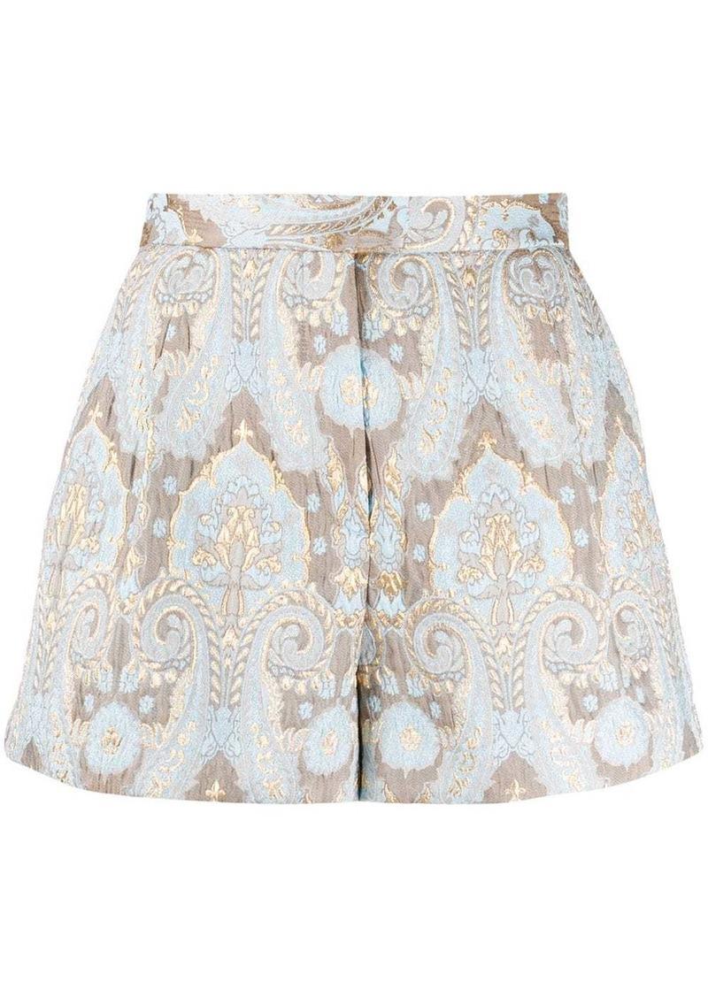 Sandro Ori jacquard shorts