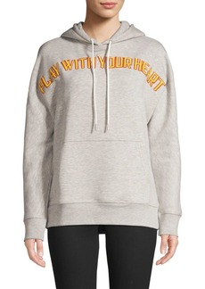 Sandro Play With Your Heart Hoodie