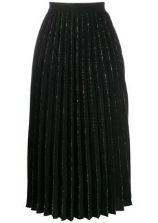 Sandro pleated midi skirt