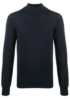 Sandro roll-neck fitted jumper