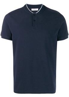 Sandro round neck polo shirt