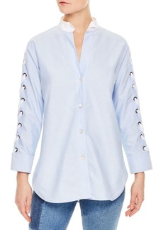 Sandro Aga V-Neck Top