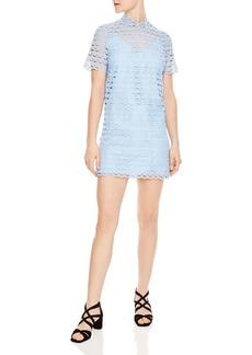 Sandro Air Lace Shift Dress