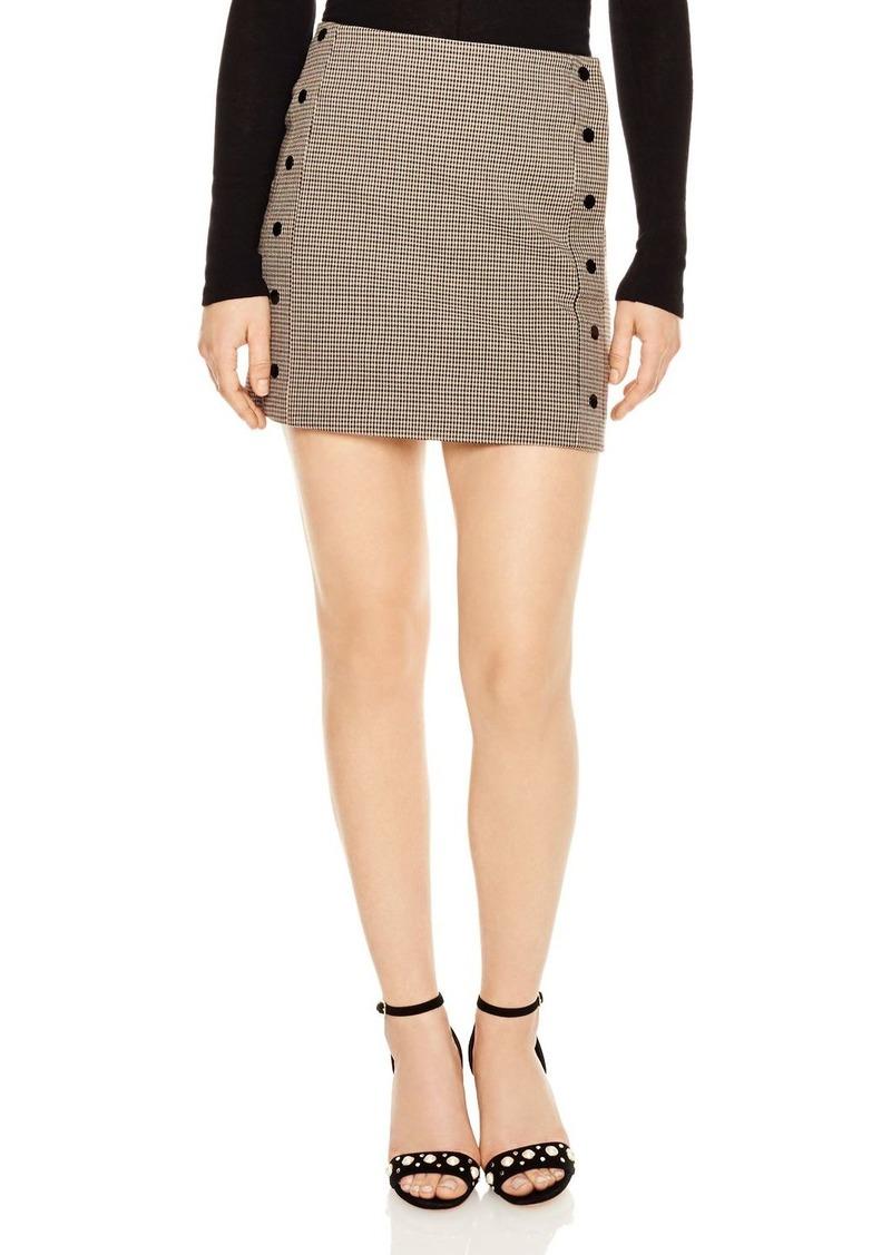 3479b7d2fc Antonia Houndstooth Mini Skirt