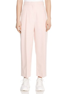 Sandro Aude Cropped Center-Creased Pants