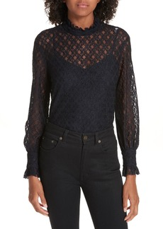 sandro Cacahuete Lace Top