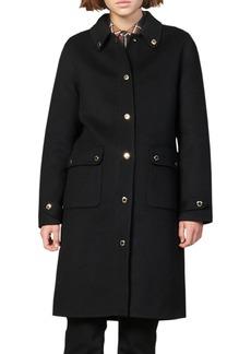 sandro Dameen Wool Blend Coat