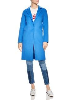 Sandro Dilan Single-Button Coat