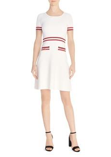 7969c94163 Sandro sandro Camelia Stripe Snap Front Shirtdress