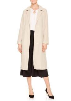 sandro Esable Notch Collar Coat