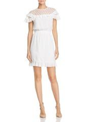 Sandro Firenze Lace-Inset Dress
