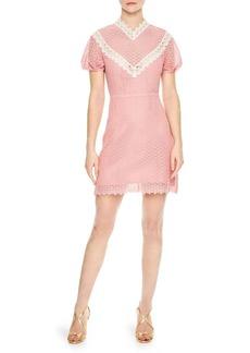 Sandro Gavin Lace Sheath Dress