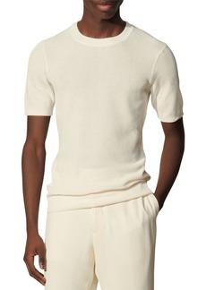 Sandro Giorgio Short Sleeve Cotton Sweater