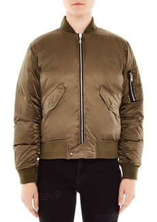 Sandro Goldmine Reversible Bomber Jacket
