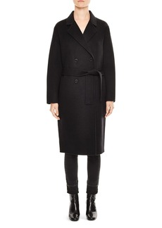 Sandro Hampton Belted Coat