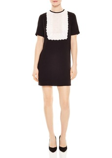 Sandro Histoire Lace-Bib Dress