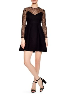 Sandro Jeanette Short Lace Dress