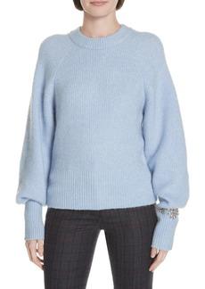 sandro Knautie Bracelet Detail Sweater