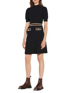 Sandro Knit Mini Dress