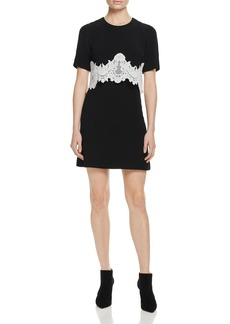 Sandro Kokeshi Lace Overlay Dress - 100% Exclusive