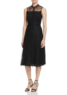 Sandro Krystal Lace Overlay Dress - 100% Exclusive