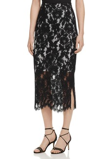 Sandro Kylie Lace Midi Skirt - 100% Exclusive